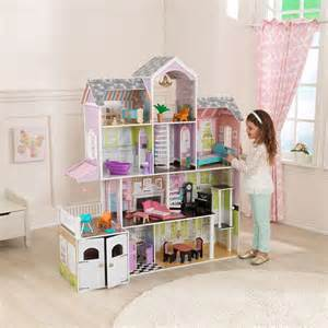 doll houses com kidkraft grand estate dollhouse 26 pieces of furniture 3 years costco uk