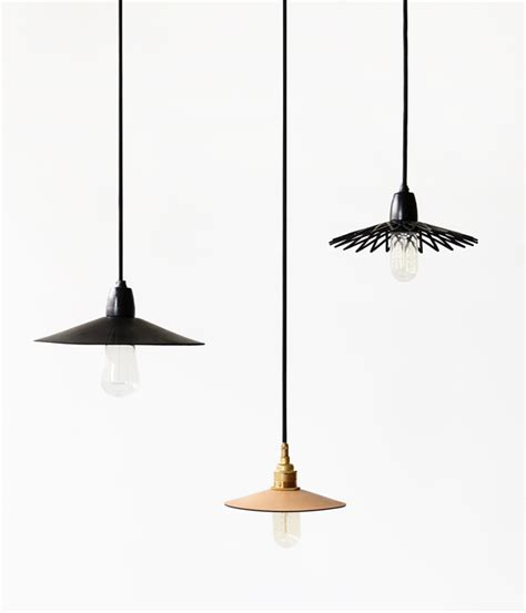 Pendant Lighting Sydney An Aesthetic 183 Hide Leather Lights The Design Files