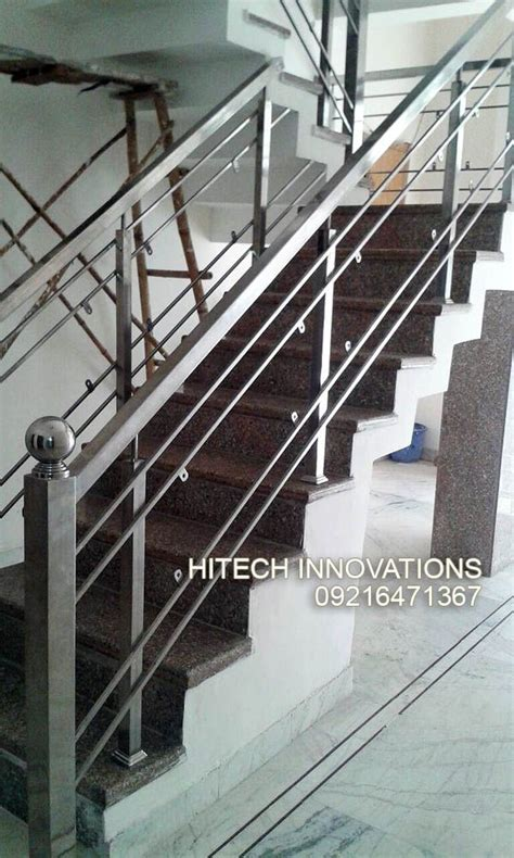 Steel Railing Design Stainless Steel Railings In Mohali Chandigarh And