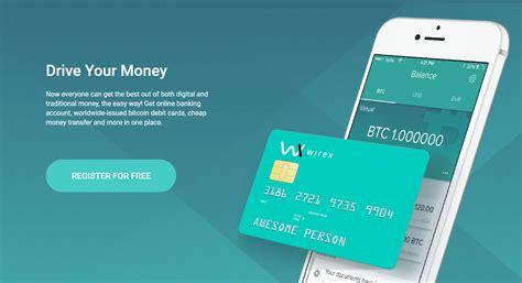 bitcoin debit card wirex bitcoin debit card btc warp