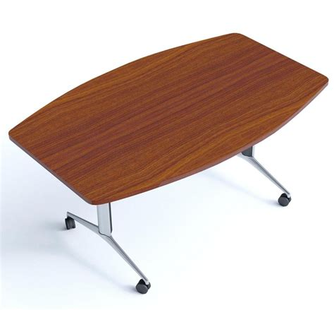 boat table top boat shape flip top table travido office reality