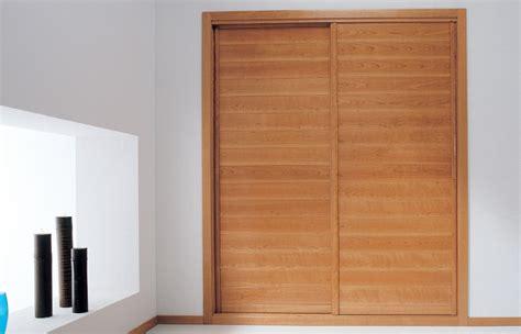 frente de armario empotrado frente de armario empotrado lamas horizontales