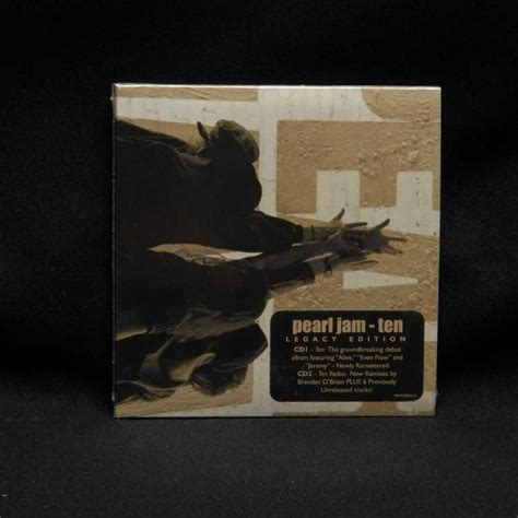 Cd Pearl Jam Ten Import sealed 2xcd pearl jam ten legacy edition 2009 epic promo