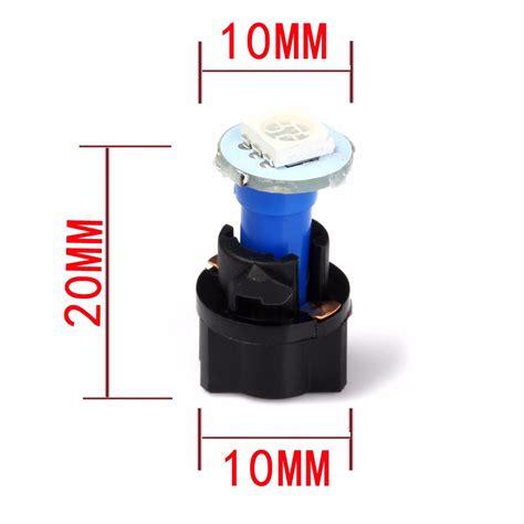Car Holder Set Fleco F 18 Murmer qook 10 sets car auto dc 12v 0 2w t5 led 5050 smd instrument panel dash light bulb holder white