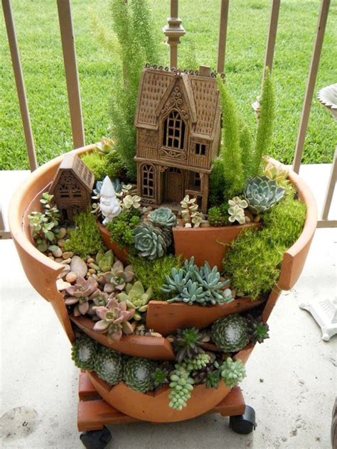 Gnome Garden Ideas Succulent Garden Idea Oh My In With This