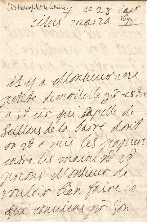 Lettre De Cachet De Louis Xiv Duchesse De La Valli 232 Re Louis Xiv Lettre Autographe Sign 233 E