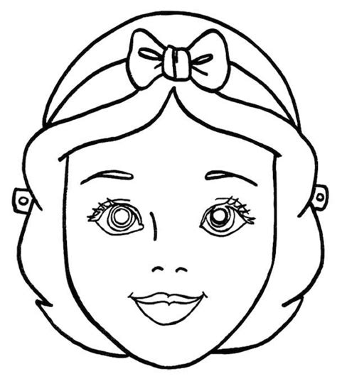 princess mask coloring pages 124 best images about maskers om in te kleuren on
