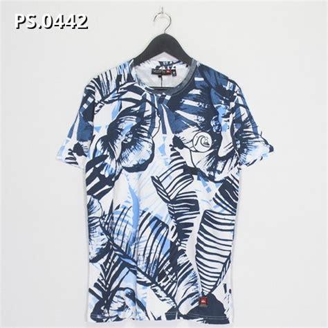 Kaos T Shirt Distro Pria Stussy kaos print quicksilver 0442 shopee indonesia