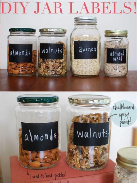diy chalkboard jars diy chalkboard spray paint jar labels for the jars