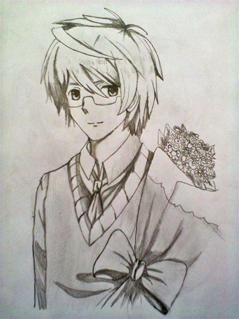Cool Anime Eye Drawings Cool Anime Drawings In Pencil Boy Anime Drawing In Pencil