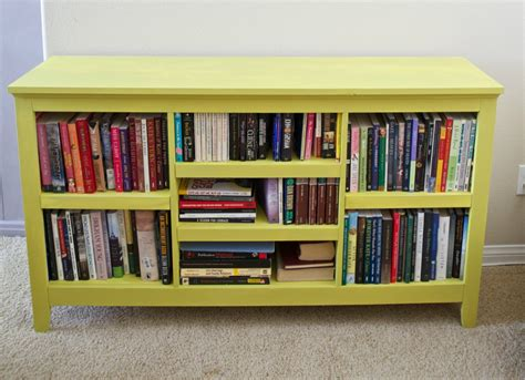 Colorful Bookcase Bookcase Makeover Painted Furniture Ideas 9 Colorful