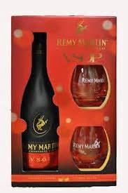 remy martin vsop gift set with glasses sterling cellars