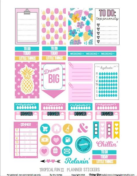 free layout sticker 17 best images about stickers free planner on pinterest