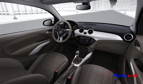 opel adam interior opel adam 2012 interior 019