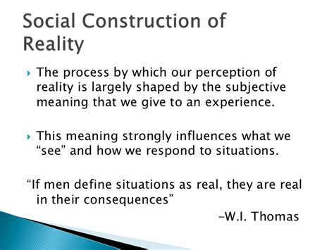 Reality Of Social Construction social structure