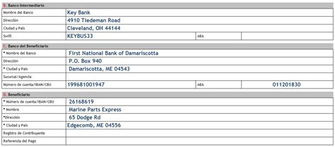 domestic bank transfer how to put your bank account details on your invoice