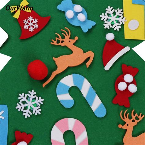 new year 2018 gift baskets new year gifts diy felt tree decorations