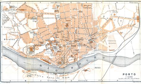 porto map free maps of portugal