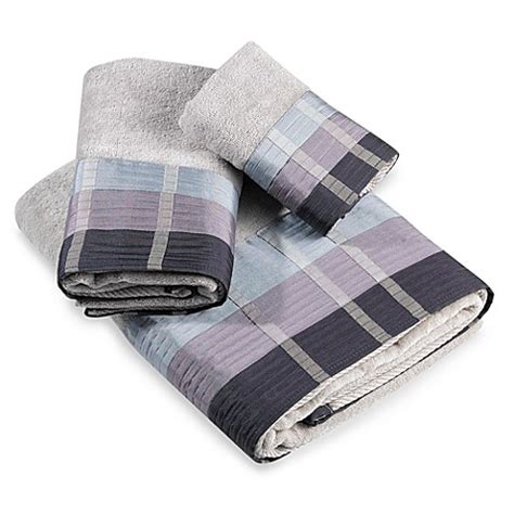 bed bath and beyond fairfax croscill 174 fairfax hand towel in slate bed bath beyond