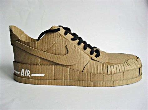 how to craft running shoes paper running sneakers cardboard nike air shoes