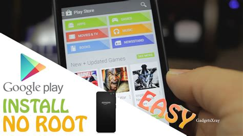 Play Store Without Root Phone Easy How To Install Play Store Without
