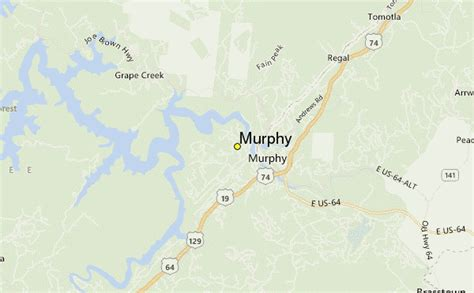 map of carolina murphy murphy weather station record historical weather for