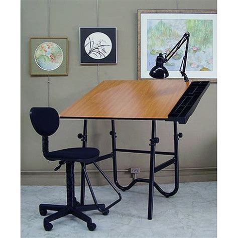 Alvin Portable Drafting Table Alvin Onyx Cherry Black Creative Center Folding Drawing Table Drafting Chair L