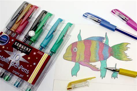 Metallic Gel Pen sargent 22 1500 10 count metallic gel pens