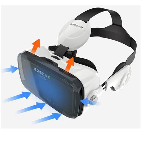 Pasaran Headset Iphone bobo z4 vr box reality 3d glasses with headphone