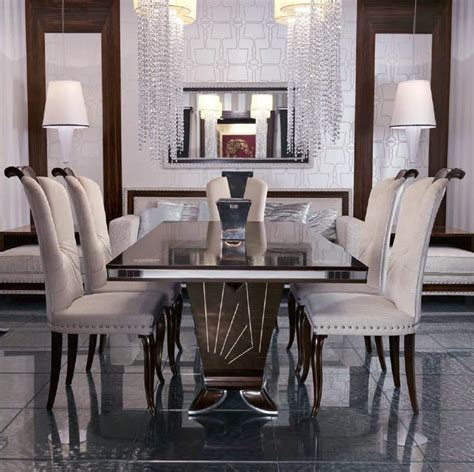 dining table for luxury living room idfdesign