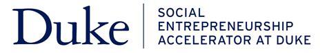 Distance Mba In Social Entrepreneurship by Social Entrepreneurship Accelerator At Duke Sead