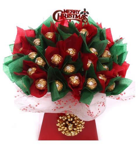 chocolate christmas gift idea christmas chocolate bouquet gift