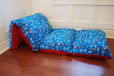 pillow bed for kids sew sweet cottage dr seuss pillow beds