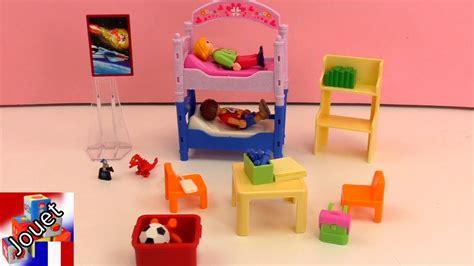 playmobil chambre enfant chambre color 233 e d enfants playmobil 5306 dollhouse