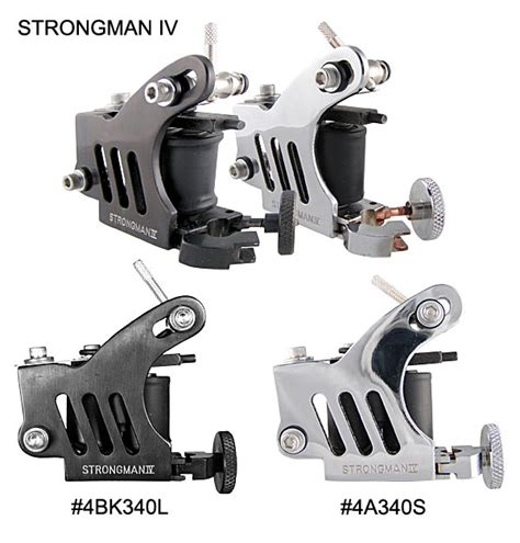unimax tattoo supplies 4a340 4bk340 strongman iv with jaws chuck