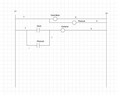 time clock photocell wiring diagram photocell