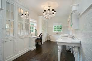 bathroom hardwood flooring ideas 35 master bathrooms with wood floors pictures home