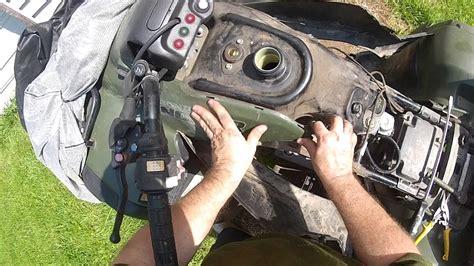 put   honda rancher gas tank youtube