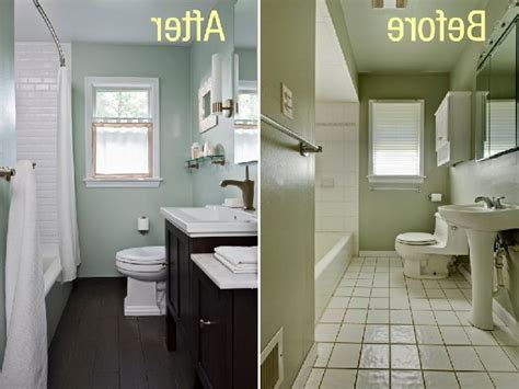 Small Bathroom Makeovers Before And After Simple Bathroom Makeover Ideas For Small Bathroom