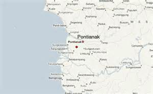 pontianak map pontianak location guide