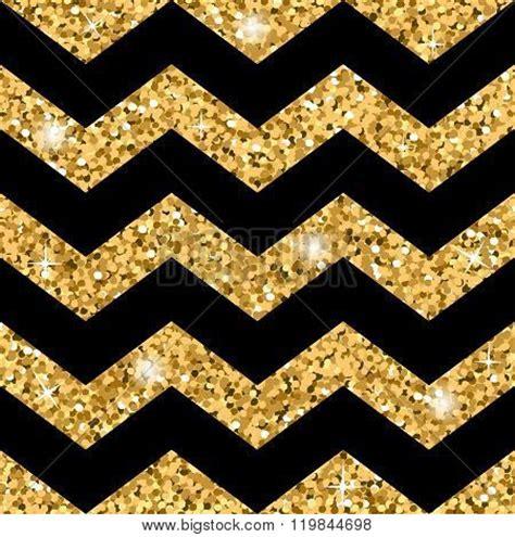 zig zag glitter wallpaper zigzag seamless pattern gold glitter and black template
