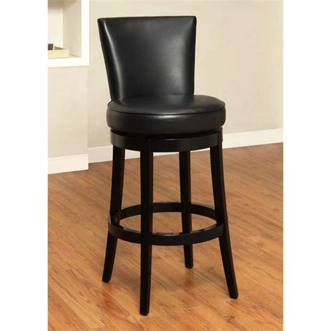 Boston 30 Quot Leather Swivel Bar Stool Dcg Stores Boston Swivel Chair