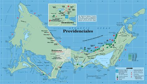map of turks and caicos large detailed tourist map of providenciales island turks and caicos islands providenciales