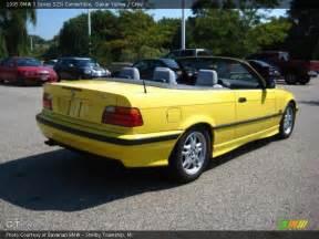 1995 bmw 3 series 325i convertible in dakar yellow photo
