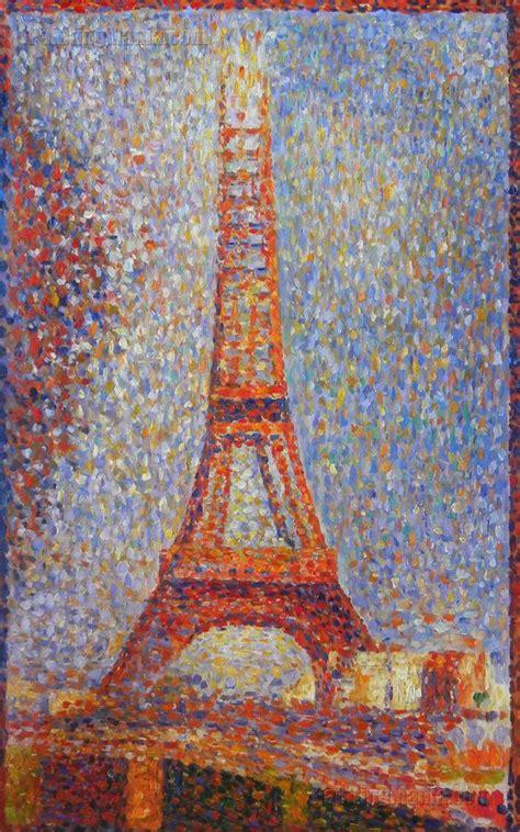 georges seurat most famous paintings art pinterest the eiffel tower george seurat art pinterest tour