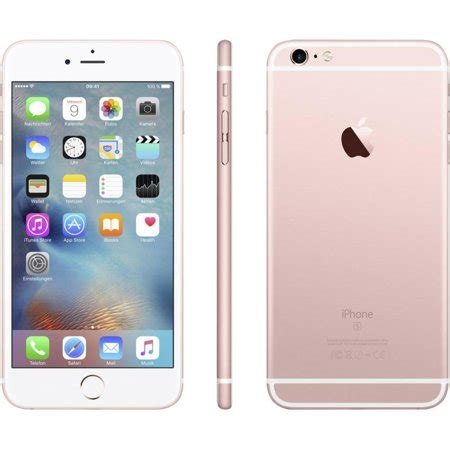 apple iphone  gb rose gold  mobile refurbished