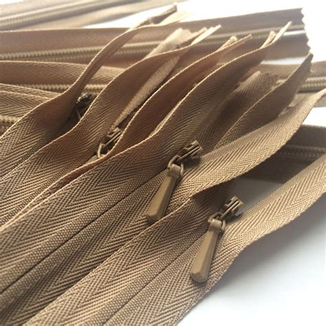 Invisible Zipper Ritsleting Jepang Ykk 60cm invisible zippers ykk color 203 5 pieces available in