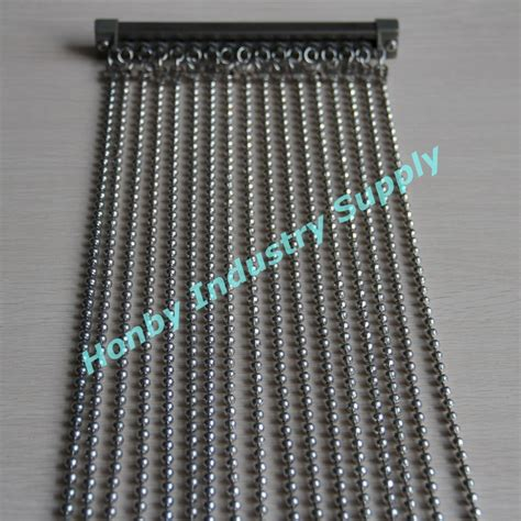 metal bead curtains china 6mm shiny silver hanging metal bead curtain photos