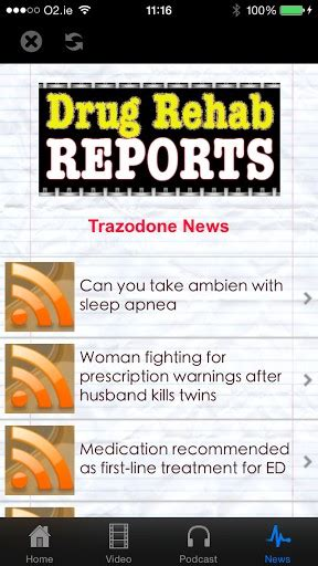 Trazadone Detox by Trazodone Withdrawal Detox For Android Appszoom