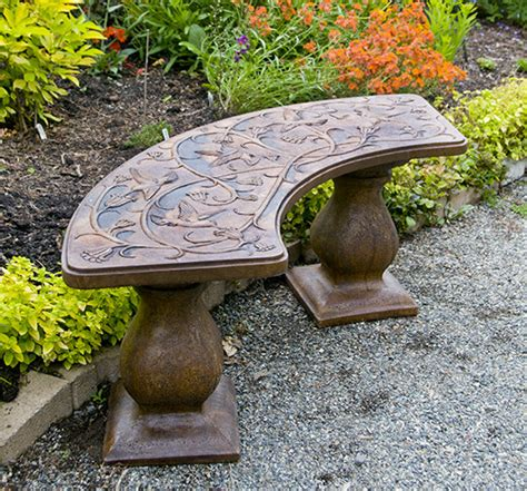 hummingbird garden bench hummingbird bench curved castart